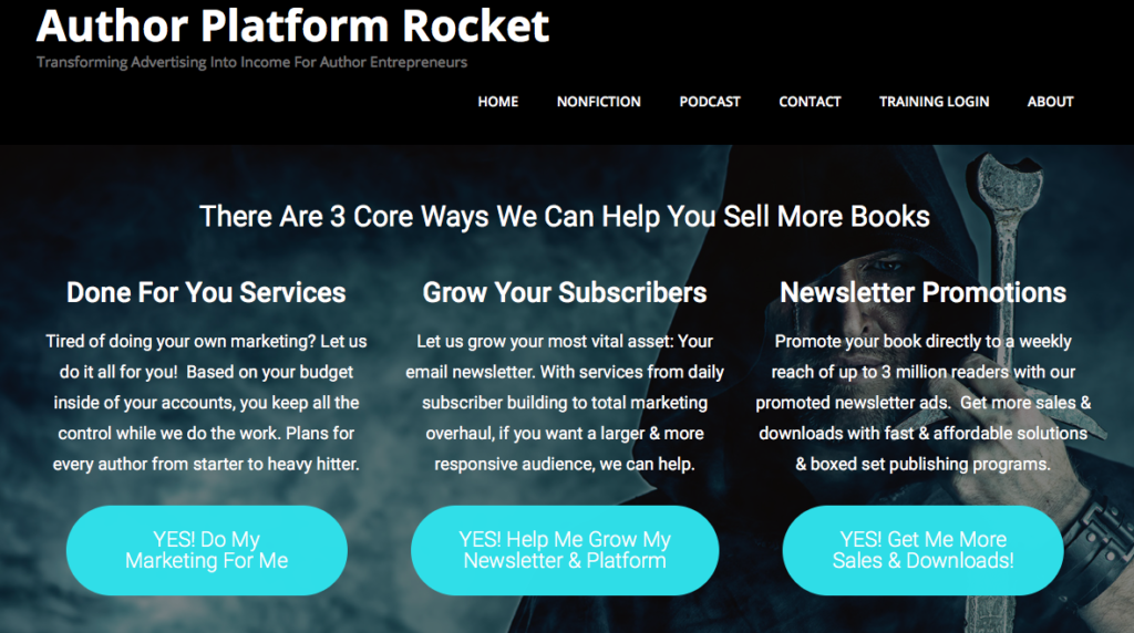 Author Platform Rocket Review